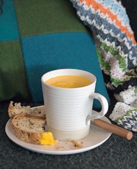 Pumpkin soup from  Lantern Cookery Classics: Gary Mehigan