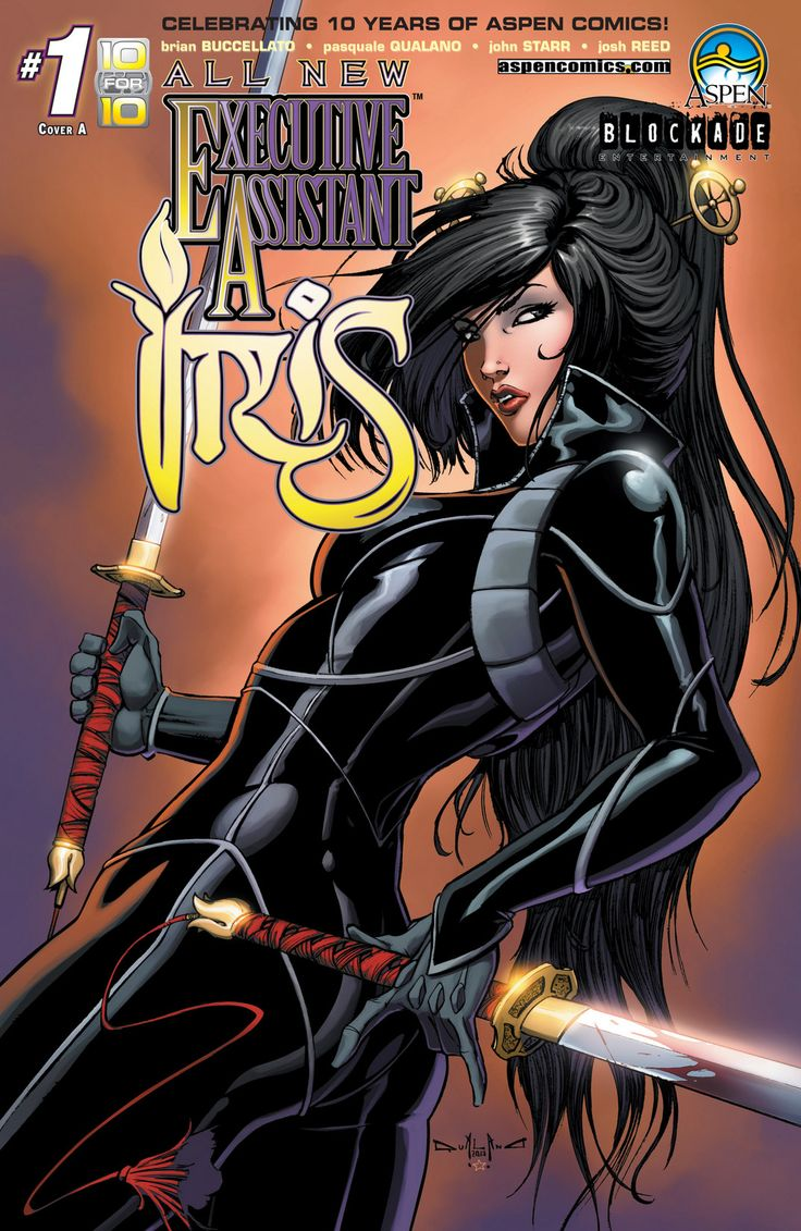 All New Executive Assistant: Iris Issue #1 - Read All New Executive Assistant: Iris Issue #1 comic online in high quality