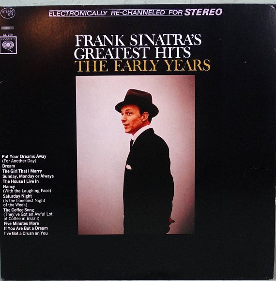 Frank Sinatra Frank Sinatra's Greatest Hits The Early