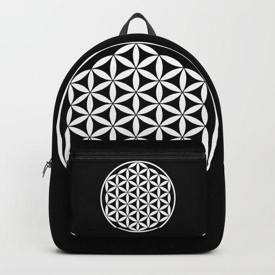 #school #backtoschool #teacher #student #study #students #floweroflife #secret #geometry #meditation #reiki #yoga https://society6.com/product/flower-of-life-yin-yang_backpack