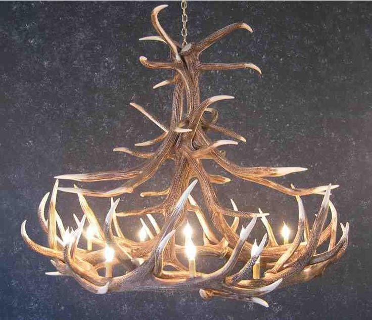 about deer antler chandelier on pinterest antler chandelier antler
