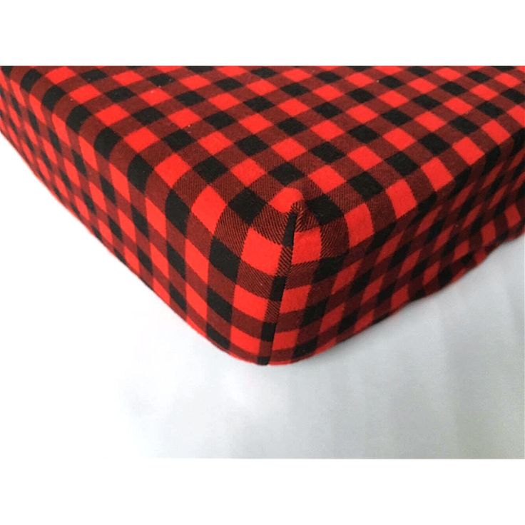 Lumberjack baby fitted sheet flannel/fleece black and red hunting checkers baby crib bedding toddler transition bed 4 to 6 inches matress by Juliettesattic on Etsy https://www.etsy.com/listing/266019271/lumberjack-baby-fitted-sheet