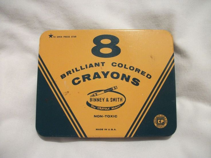 For Informational Purposes:  VINTAGE CRAYOLA 8 PACK TIN BINNEY & SMITH.  On ebay for $17.95