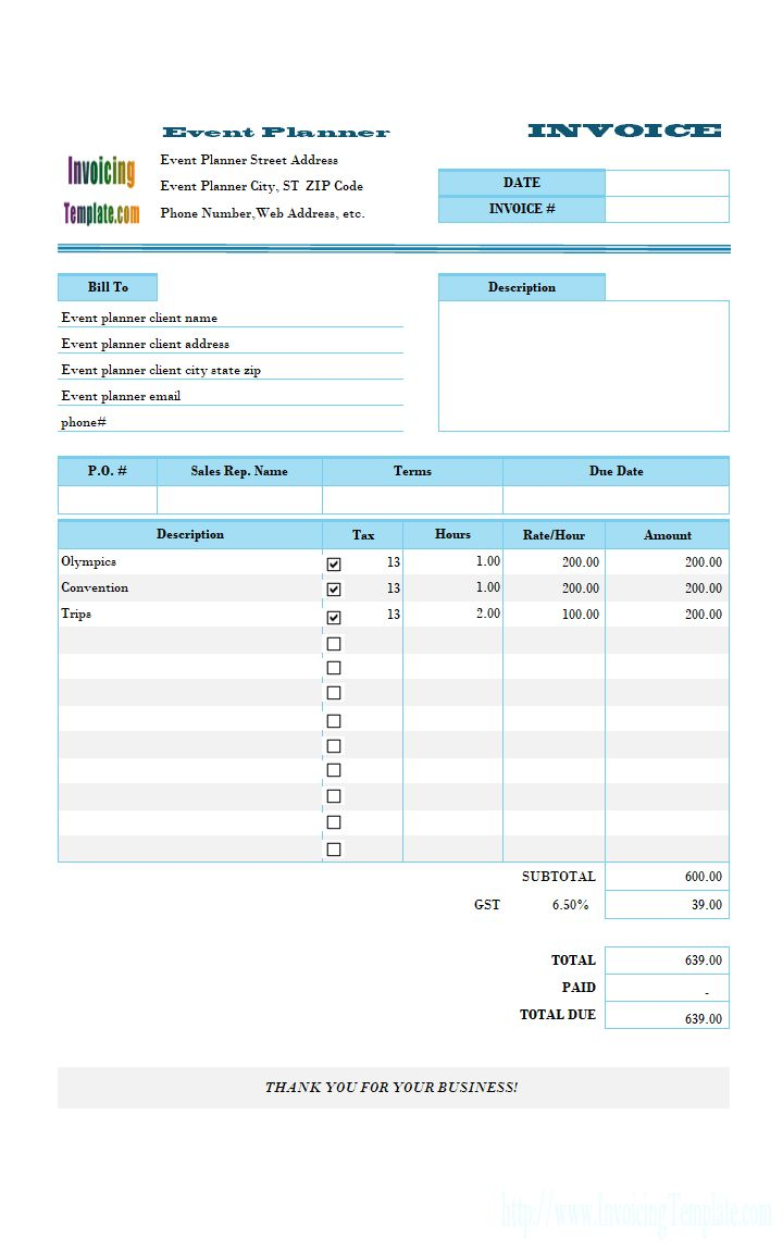 Best Invoice Sample Ideas On Pinterest Freelance Invoice - Event invoice template