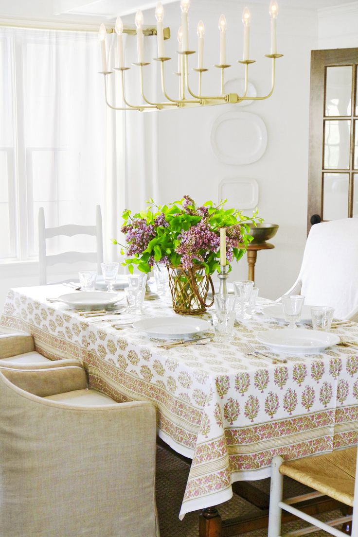 50 Of The Most Beautiful Country Homes Across America Dining Room