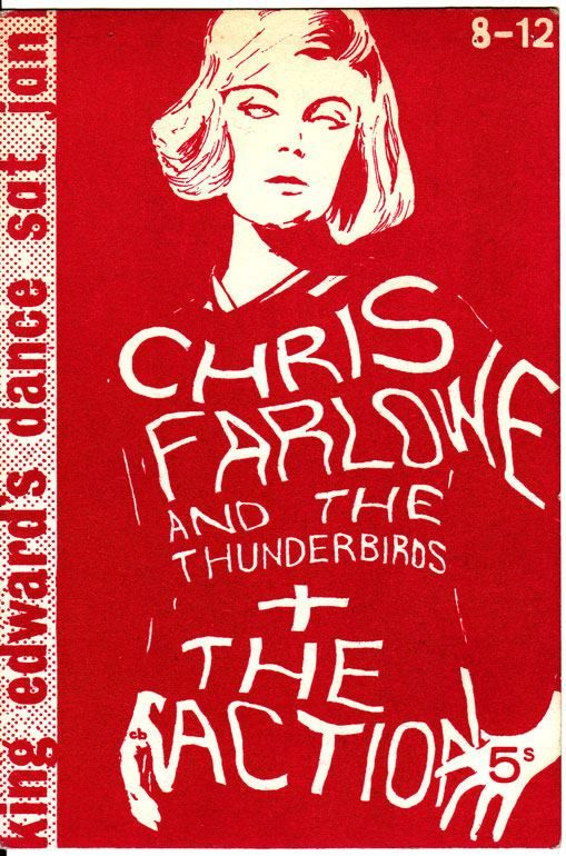 CHRIS FARLOWE & the Thunderbirds + THE ACTION at King Edward's School, Southampton. 1st January 1966