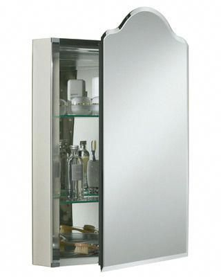 20 In W Recessed Medicine Cabinet This Vintage Cabinet With Silver