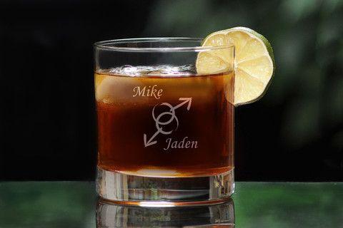 Human Rights Whiskey Glass LGBTQ