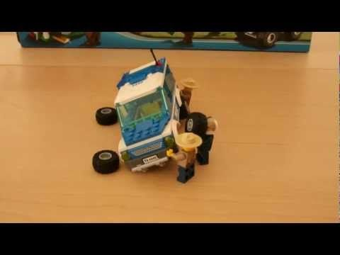 Lego 4440 - Stop Motion assembly [HD] - Forest Police Station - YouTube