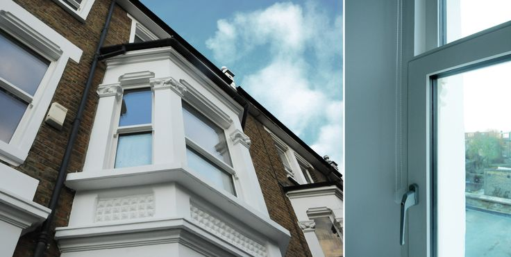 Located in Lena Gardens, London - This house uses Pilkington energiKare™ Triple,Pilkington Spacia™ to benefit from Thermal Insulation