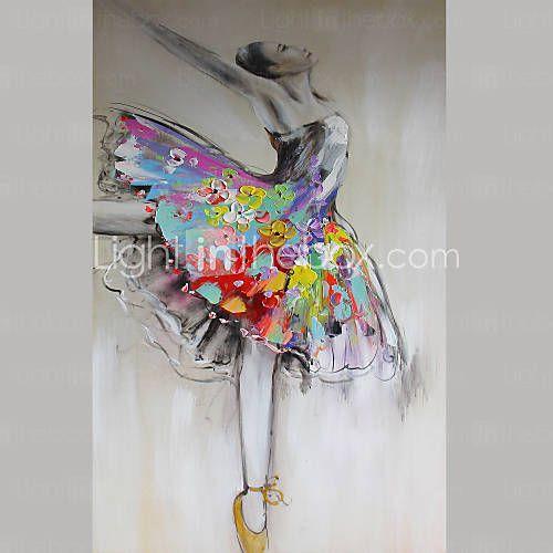 1 panneau pur peinture à l'huile peinte à la main sur toile suspendus sur le salon de 4832055 2016 à €147.97