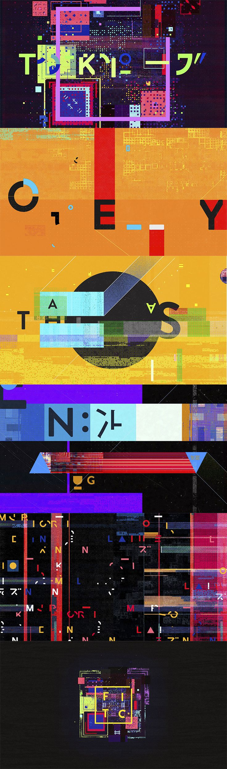 FITC TOKYO 2015. Director: Ash Thorp