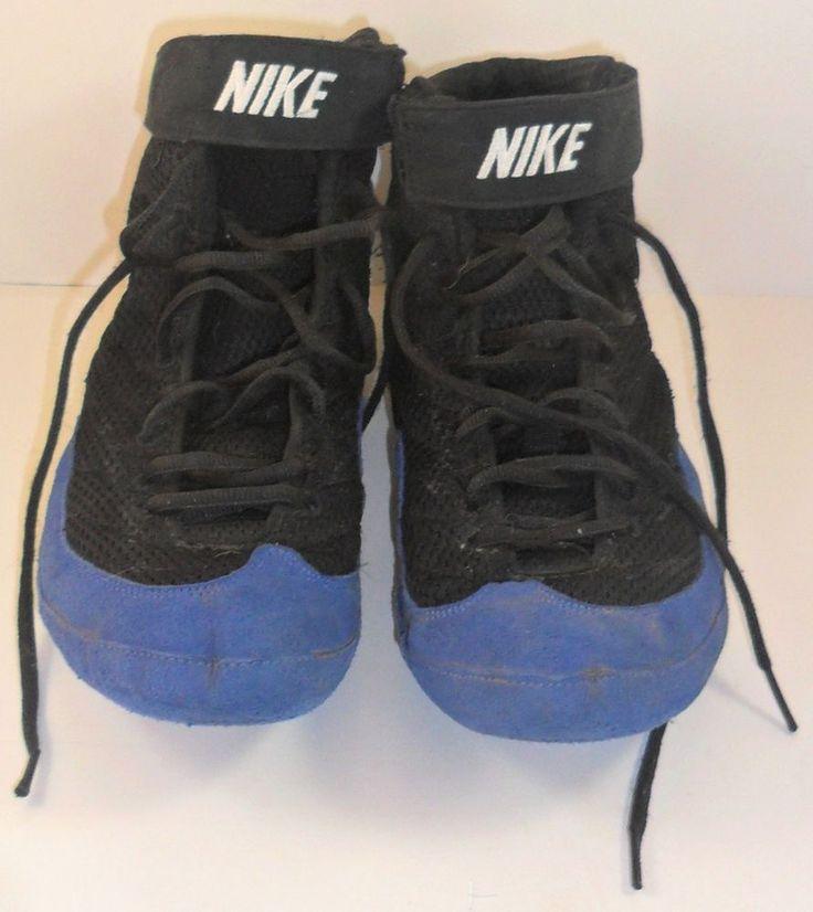 Nike Inflict  Mens Wrestling Shoes Royal Blue Black