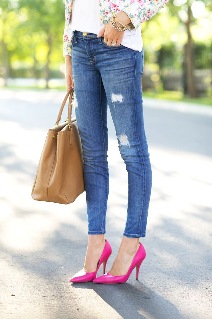 1000  ideas about Pink Heels Outfit on Pinterest | Pink shoes ...
