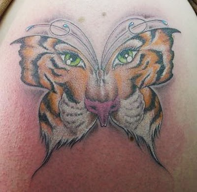 25 best ideas about tiger butterfly tattoo on pinterest tattoos for women cat tiger tattoo. Black Bedroom Furniture Sets. Home Design Ideas