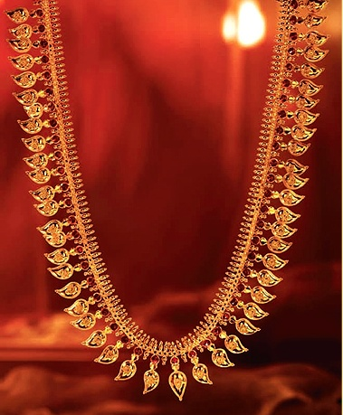 Long chain by Tanishq  #bridal #jewellery #temple