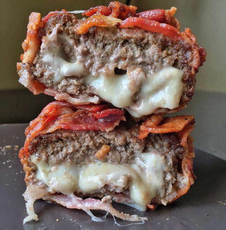 Bacon Wrapped Burger! – peepmyeats