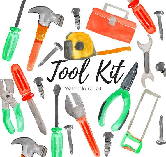 tools clipart tool kit