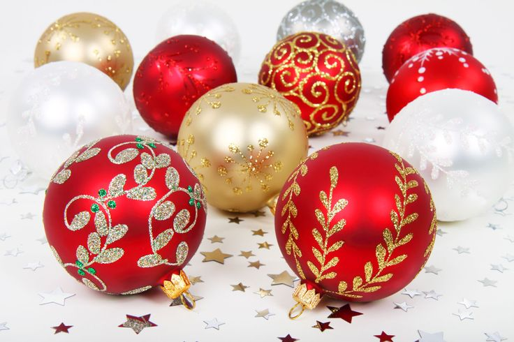 Various Christmas Baubles-Royalty free stock photos. All pictures are free for commercial and personal use. http://www.publicdomainpictures.net