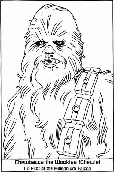 star wars princess leia coloring pages | Coloriage luke leia (page 2)