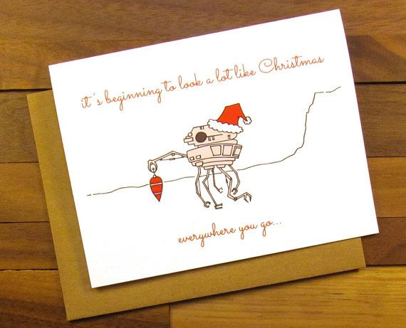 Hey, I found this really awesome Etsy listing at https://www.etsy.com/uk/listing/241063440/funny-christmas-card-star-wars-christmas
