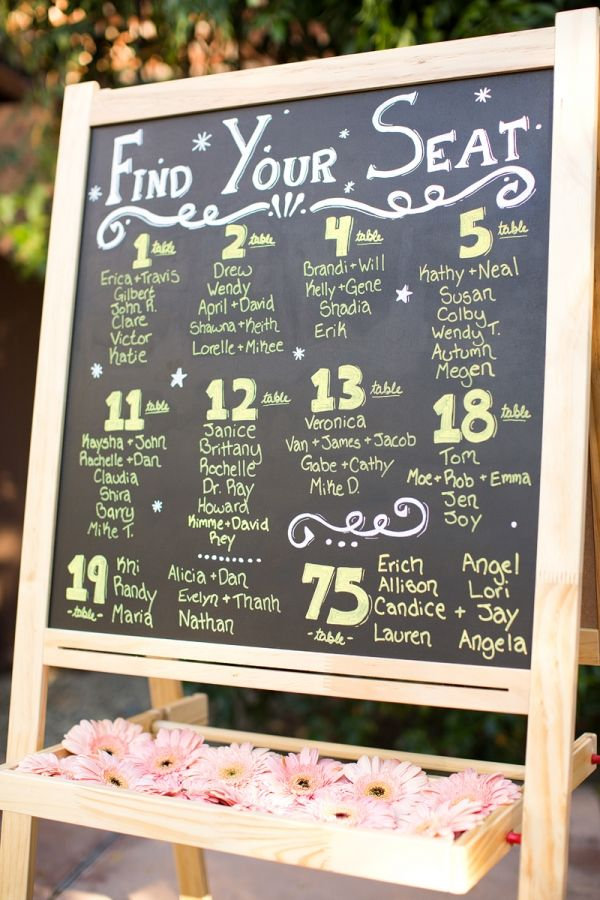 52 best Seating Chart Ideas images on Pinterest Wedding reception