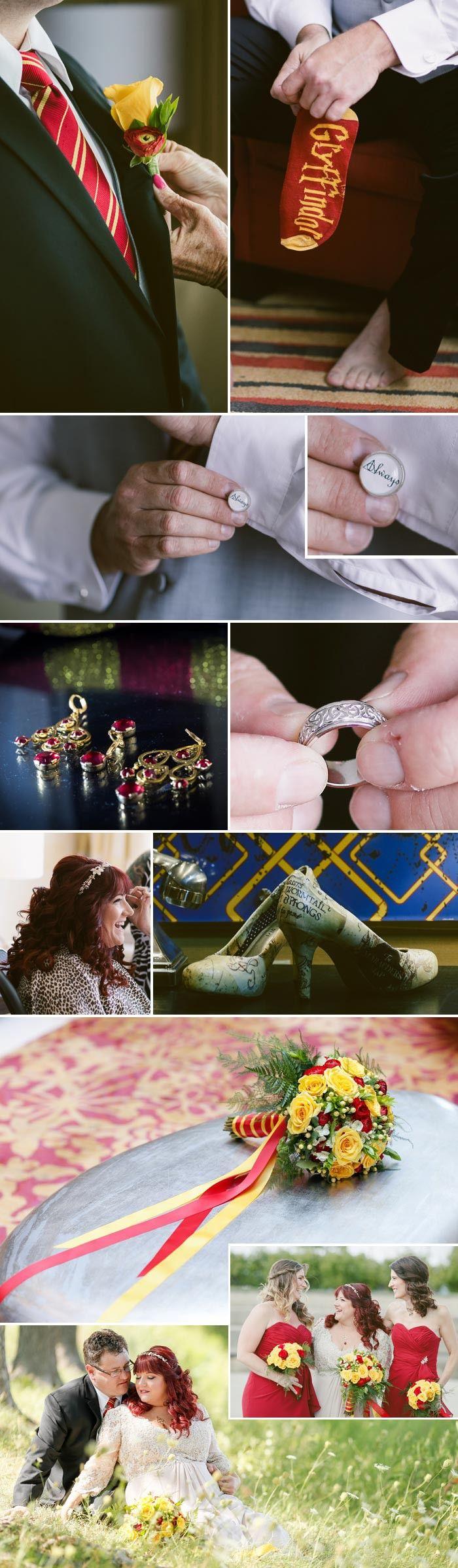 Harry Potter Hochzeit: Das Getting Ready © sachi villareal imaging llc