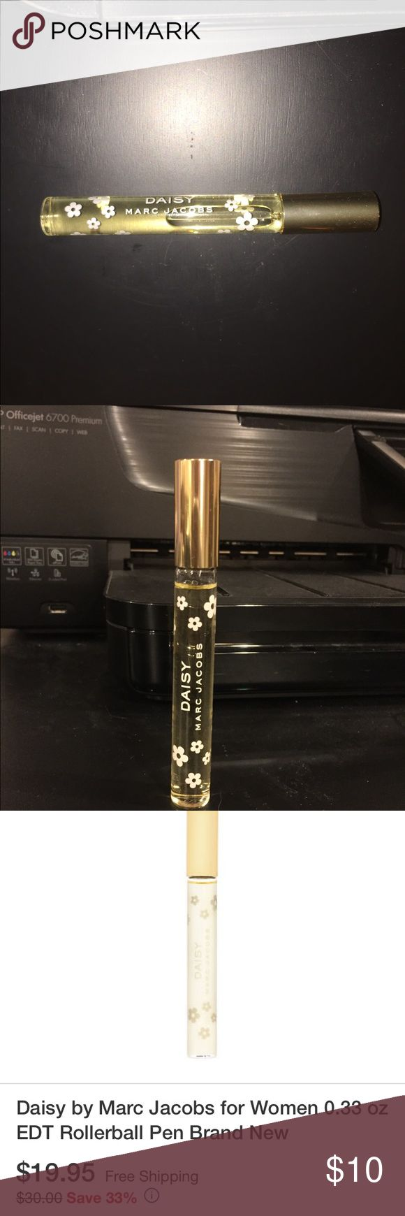 Daisy by Marc jacobs roll on travel size perfume Smells amazing. I only used it once. But I now have the actual large bottle size so I no longer have a need for this roll on perfume. Marc Jacobs Makeup