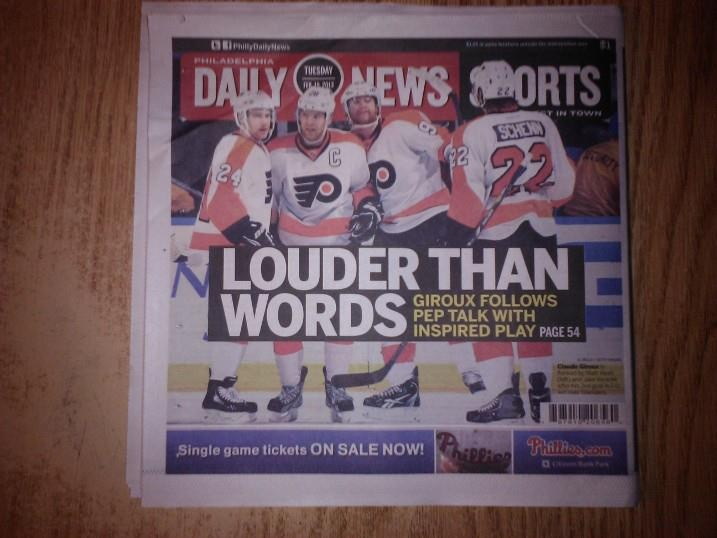 Here's hoping this is the beginning of MANY more awesome Daily News covers!!!!! :D 02-19-13
