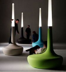 BDlove lamp Ross Lovegrove design