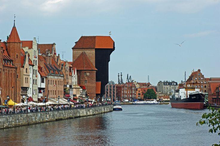 Gdańsk, Motława, Sołdek, Rzeka, Stare Miasto, Turystyka