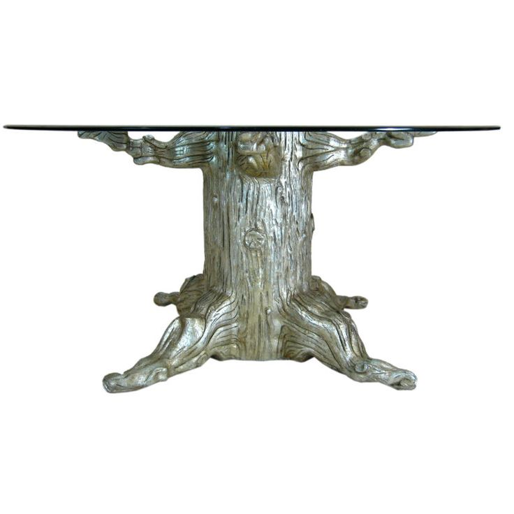 Tree Trunk Dining Table By David Barrett Trees David And Coffee Tables