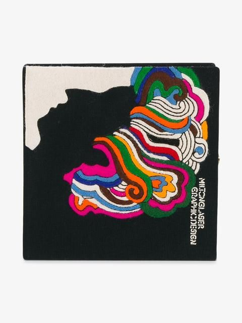 Milton Glaser Book Clutch