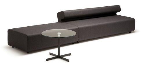 Contemporary modular sofa UP by Knudsen Berg Hindenes FORAFORM AS
