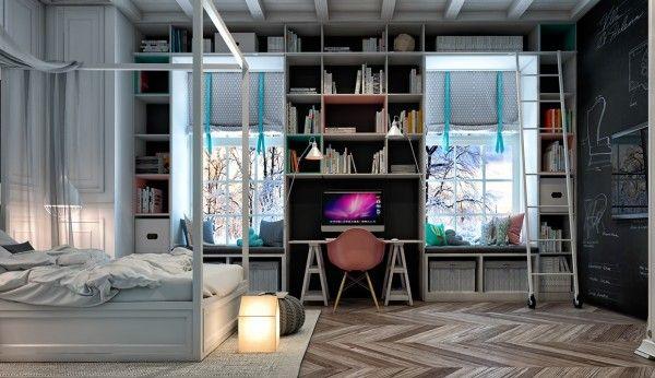 Kreatív és inspiráló tinédzser szobák!,  #inspiráló #kiegészítő #kreatív #minták #nyugalom #öteletes #otthon #otthon24 #szigete #színek #szoba #tinédzser, http://www.otthon24.hu/kreativ-es-inspiralo-tinedzser-szobak/