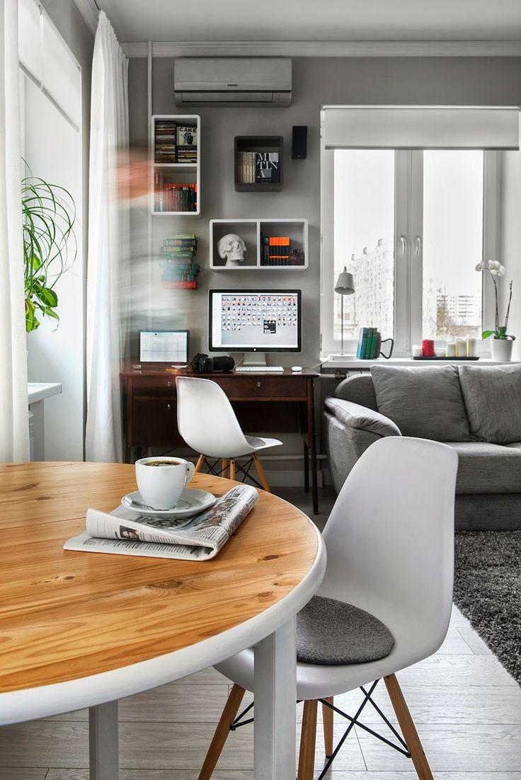 25 besten Jednopokojowe mieszkanie 30m2 - blog wnętrza design Bilder ...