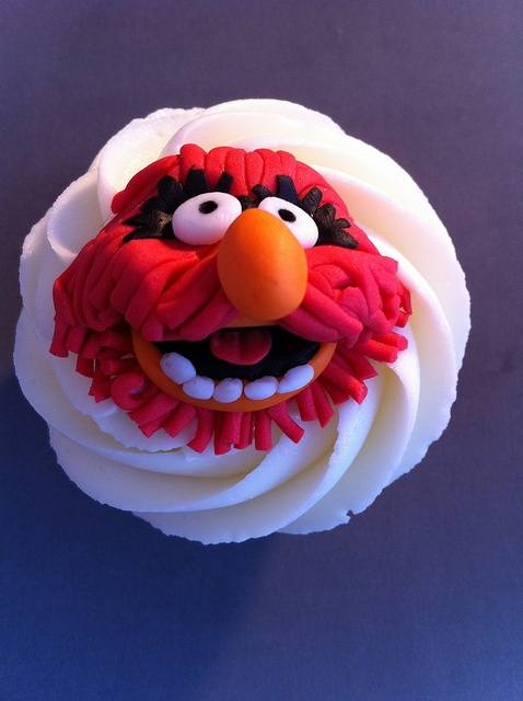 Muppet Cupcakes. Animal by zoeycakes, via Flickr