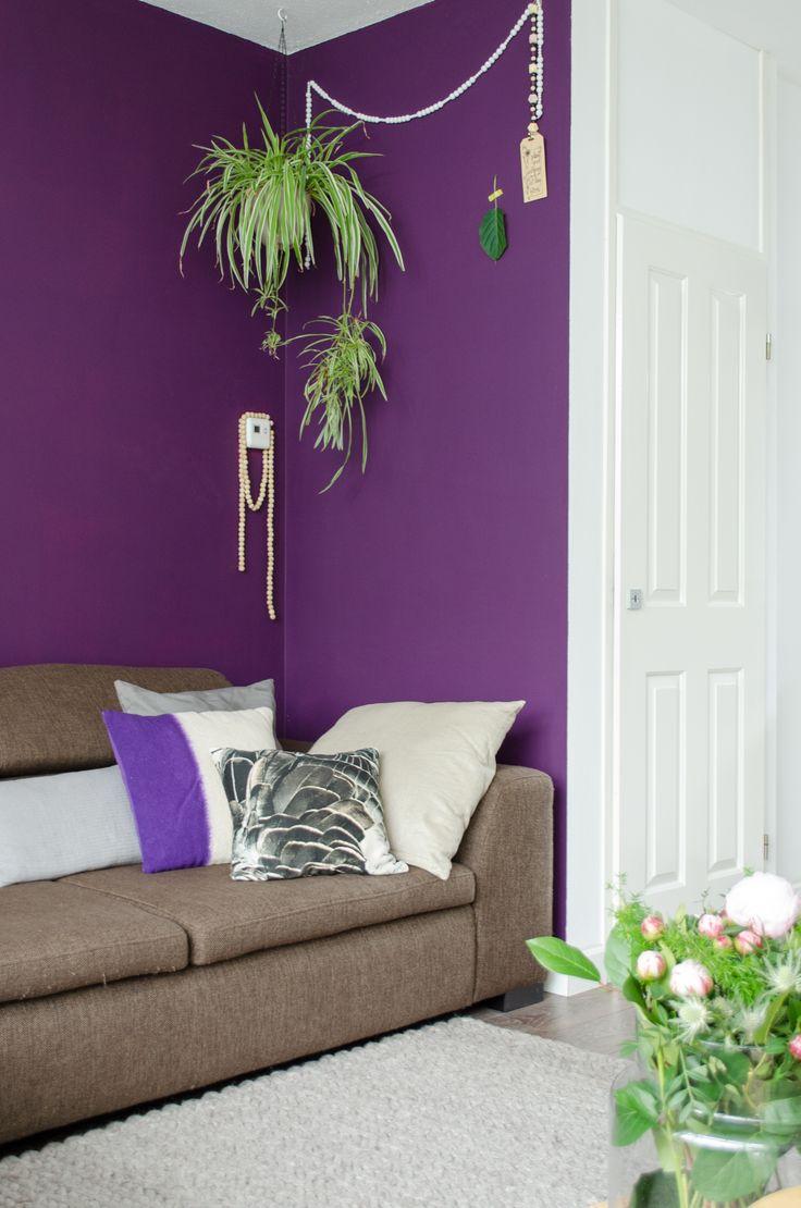 20+ beste ideeën over paars interieur op pinterest - donkerpaarse, Deco ideeën