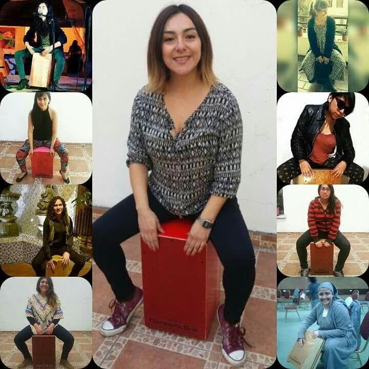 Cada día Más mujeres se unen al apasionante mundo del Cajón y en Flamentr3lok son las protagonistas!!!