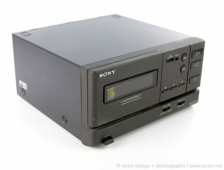 Sony Tc 717m Stereo Cassette Deck For Mhc 2200 Mini Stereo System Japan Sony Sony Stereo