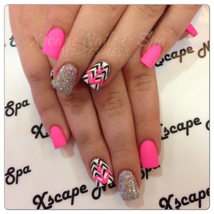 So cute!!! Especially love the design on top of the chevron. Might get a heart though.