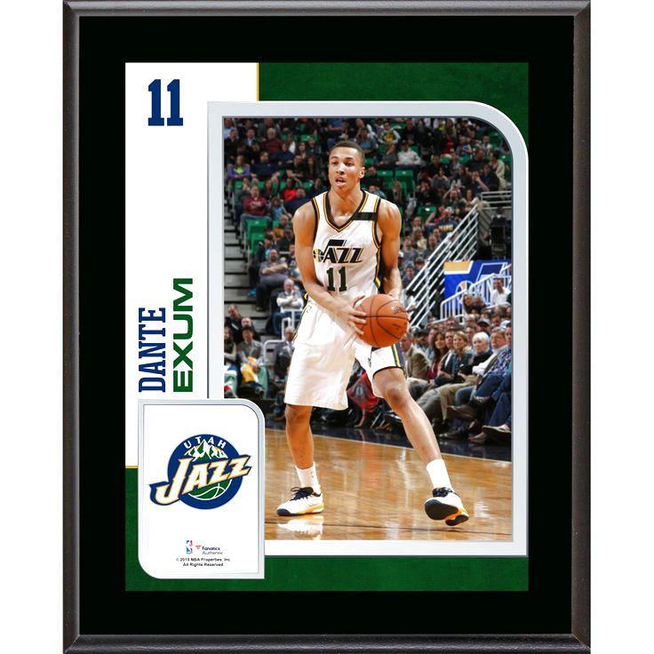 """Dante Exum Utah Jazz Fanatics Authentic 10.5"""" x 13"""" Sublimated Player Plaque - $23.99"""