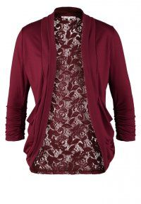 Anna Field - Cardigan - bordeaux