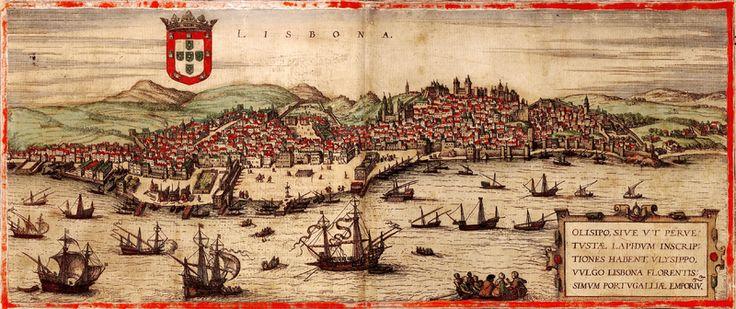 """Olissipo seria segundo alguns historiadores a designação pré-românica da cidade. O nome derivaria de """"Allis-Ubo"""" que significa em fenício """"Porto-Seguro""""."""