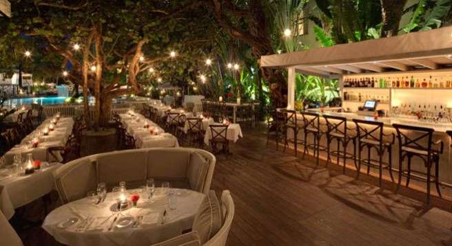 The Royal Restaurant at Miamis Raleigh Hotel - ELLE DECOR