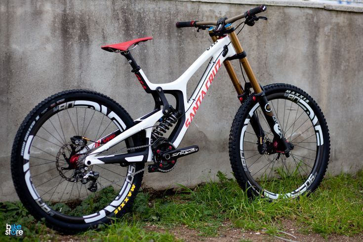 A Downhill Mountain Bike Is A Full Suspension Bicycle Designed For