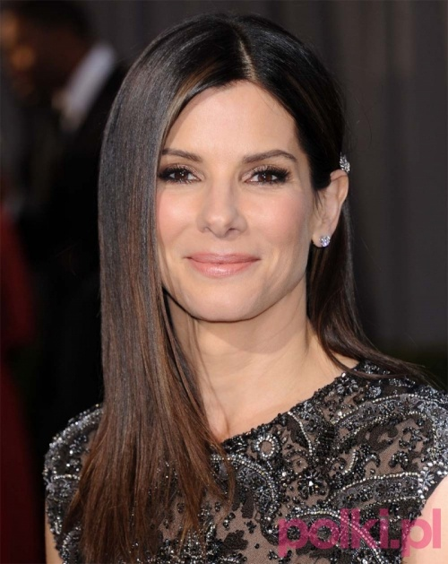 Oscary 2013 - Sandra Bullock, Oscary 2013 - makijaże i fryzury gwiazd
