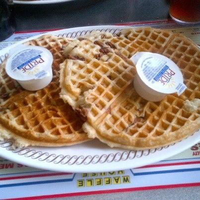Waffle House Toasted Pecan Waffles   Copycat Recipe