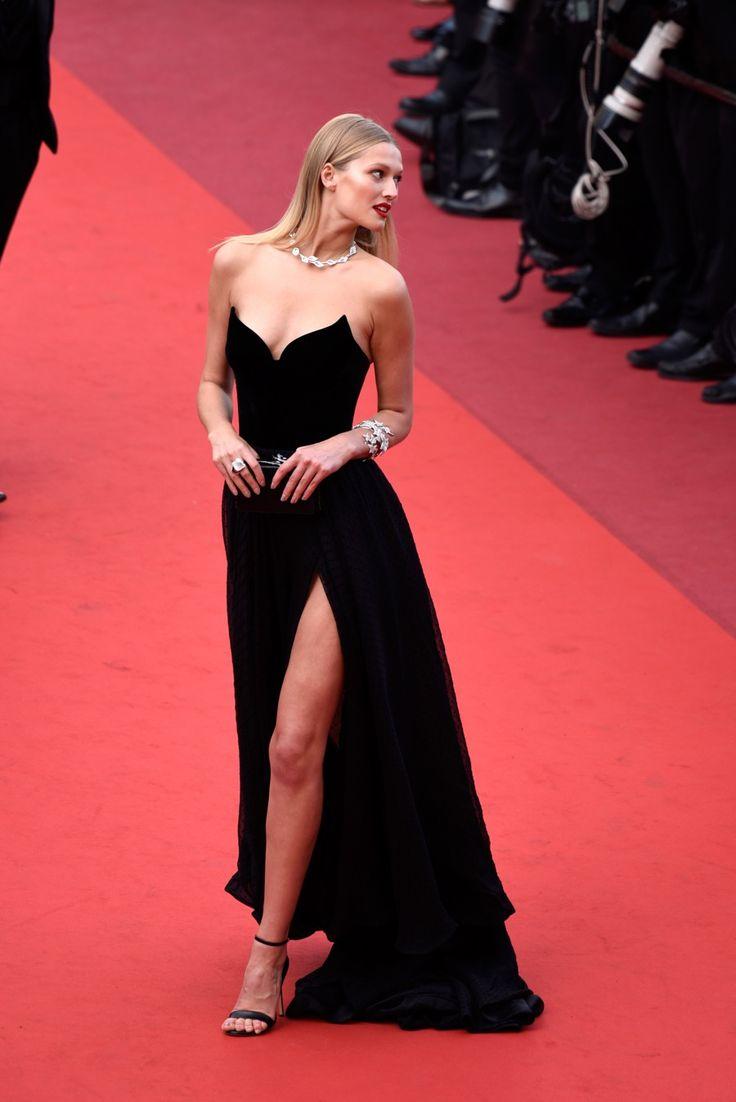 Toni Garrn no Festival de Cannes 2016.