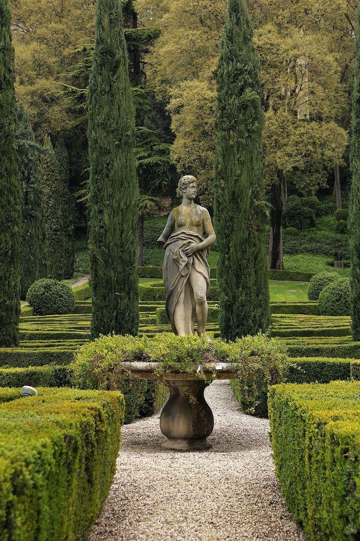 Italian country gardens -  Giusti Garden By Mikhail Ursus